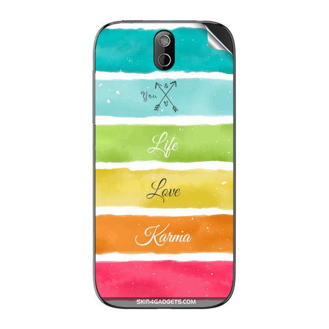Lets Love Life For HTC 608T Skin