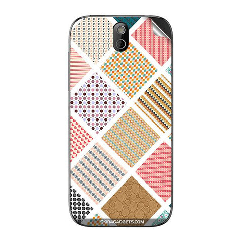Varied Pattern For HTC 608T Skin