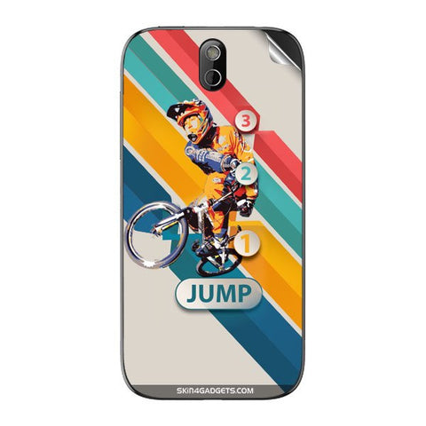 1 2 3 Jump For HTC 608T Skin