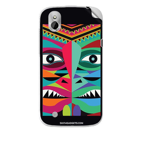 Tribal Face For HTC T327W Skin