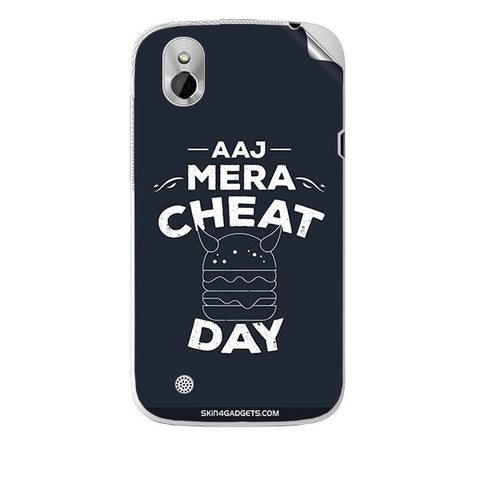 Aaj Mera Cheat Day For HTC T327W Skin