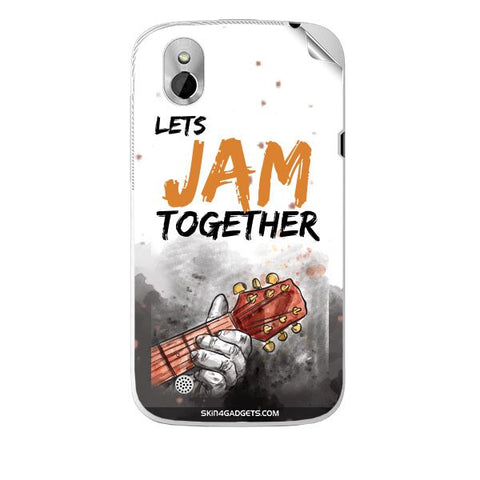 Lets Jam Together For HTC T327W Skin