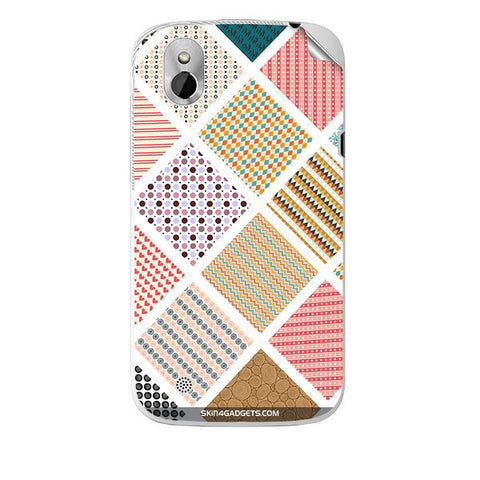Varied Pattern For HTC T327W Skin