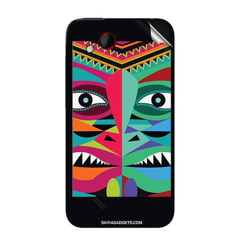 Tribal Face For HTC T328D Skin