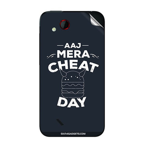 Aaj Mera Cheat Day For HTC T328D Skin