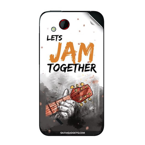 Lets Jam Together For HTC T328D Skin