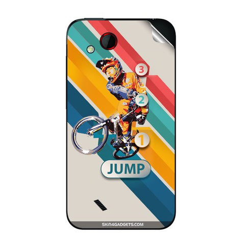 1 2 3 Jump For HTC T328D Skin