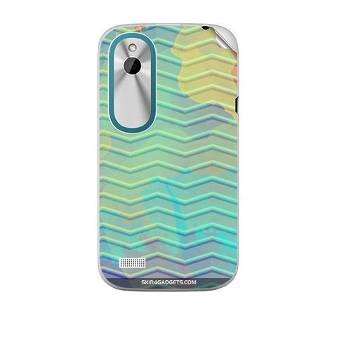 Colourful Waves For HTC T328W Skin
