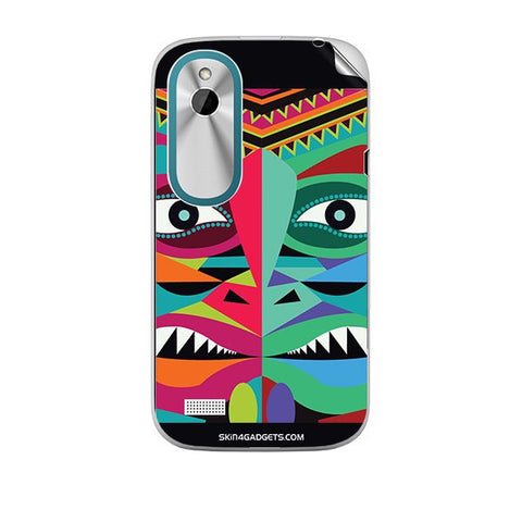 Tribal Face For HTC T328W Skin