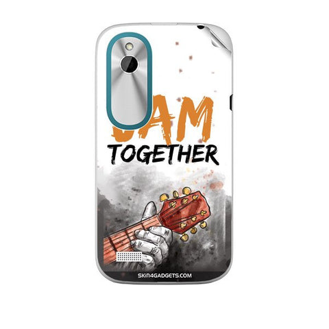 Lets Jam Together For HTC T328W Skin