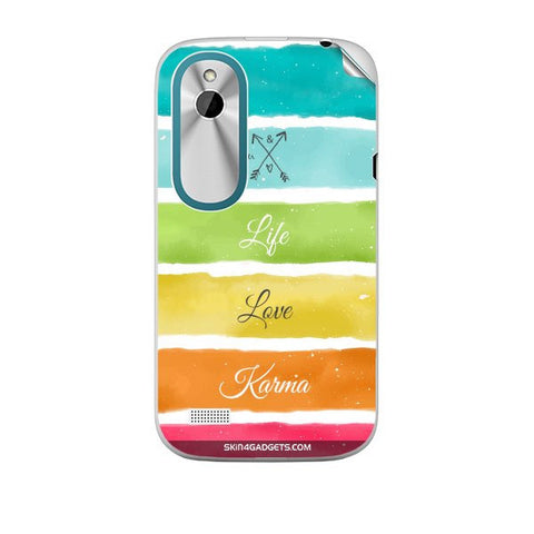 Lets Love Life For HTC T328W Skin