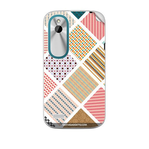Varied Pattern For HTC T328W Skin