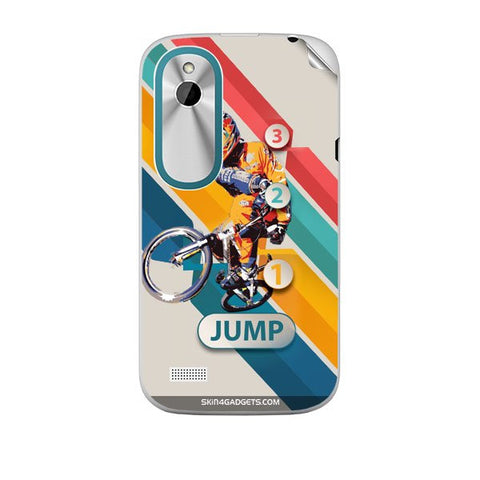 1 2 3 Jump For HTC T328W Skin
