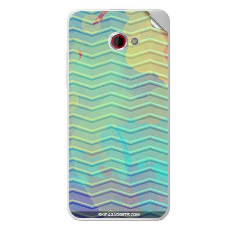 Colourful Waves For HTC BUTTERFLY S Skin