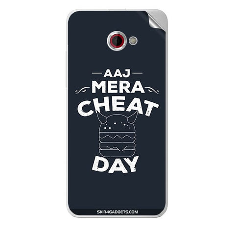 Aaj Mera Cheat Day For HTC BUTTERFLY S Skin