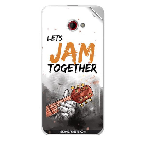 Lets Jam Together For HTC BUTTERFLY S Skin
