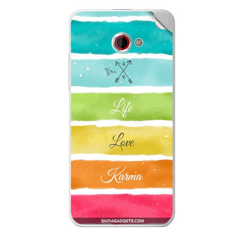 Lets Love Life For HTC BUTTERFLY S Skin
