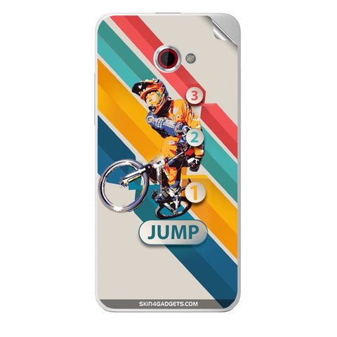 1 2 3 Jump For HTC BUTTERFLY S Skin