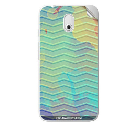 Colourful Waves For HTC DESIRE 210 Skin