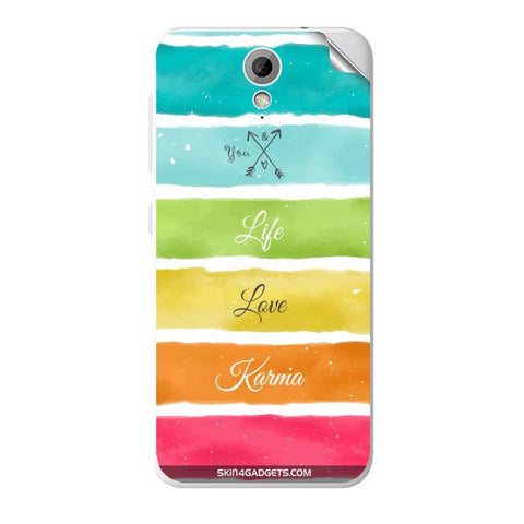 Lets Love Life For HTC DESIRE 620G Skin