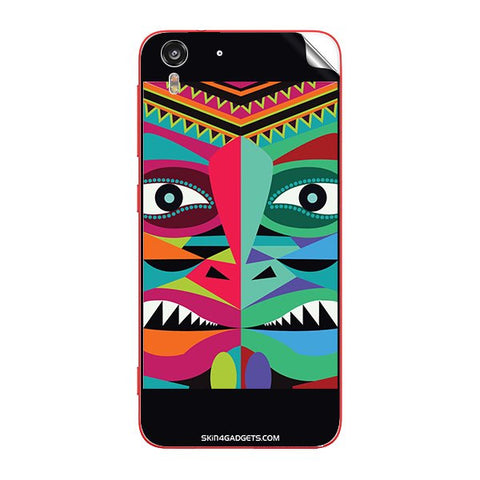 Tribal Face For HTC DESIRE EYE Skin