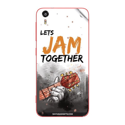 Lets Jam Together For HTC DESIRE EYE Skin