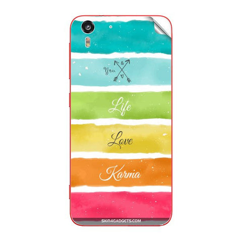 Lets Love Life For HTC DESIRE EYE Skin