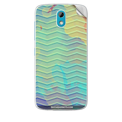 Colourful Waves For HTC DESIRE 526G PLUS Skin