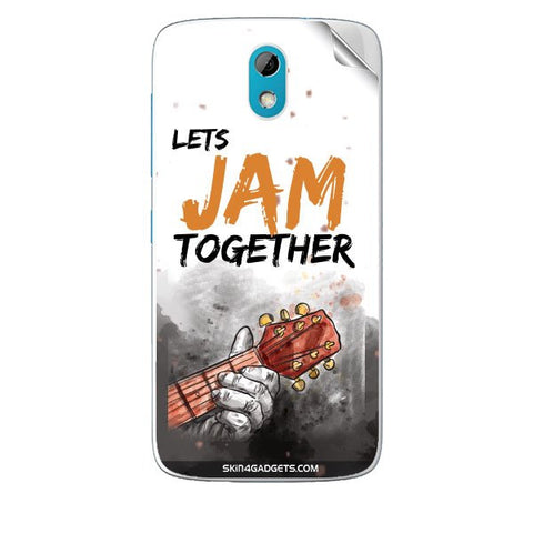 Lets Jam Together For HTC DESIRE 526G PLUS Skin