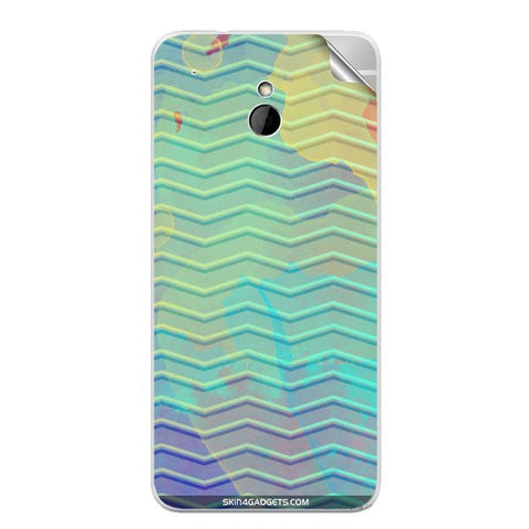 Colourful Waves For HTC ONE MINI Skin