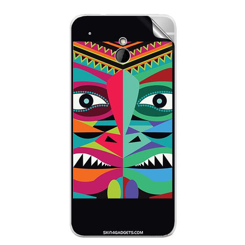 Tribal Face For HTC ONE MINI Skin