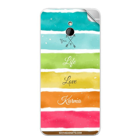 Lets Love Life For HTC ONE MINI Skin