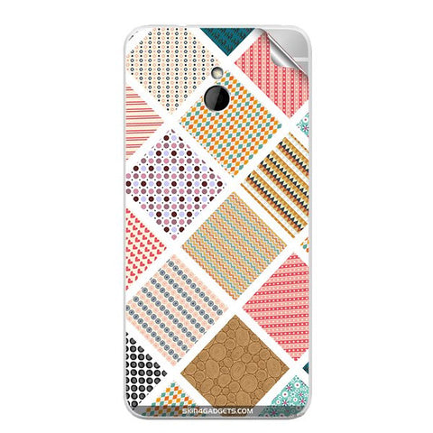 Varied Pattern For HTC ONE MINI Skin