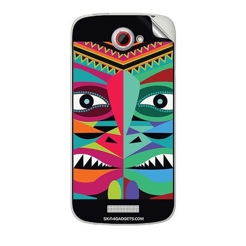 Tribal Face For HTC ONE S Skin