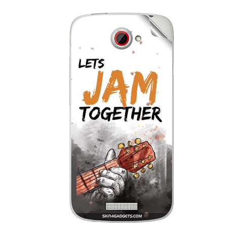 Lets Jam Together For HTC ONE S Skin