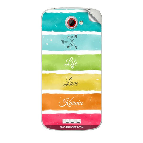 Lets Love Life For HTC ONE S Skin