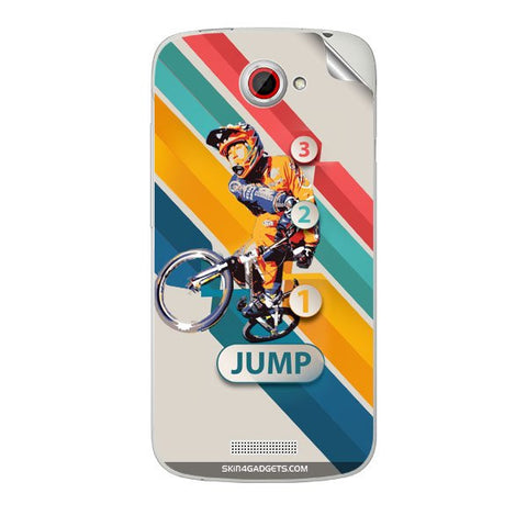 1 2 3 Jump For HTC ONE S Skin
