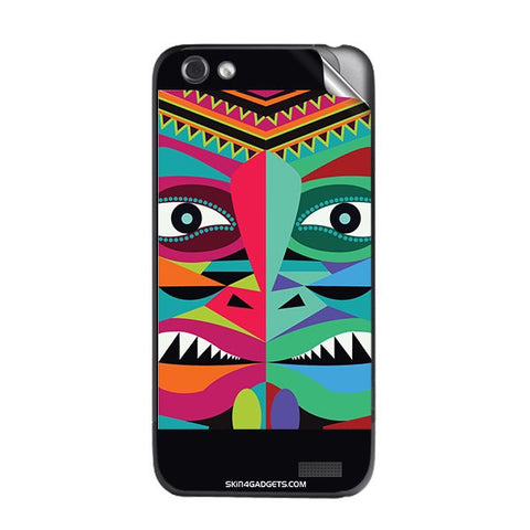 Tribal Face For HTC ONE V Skin