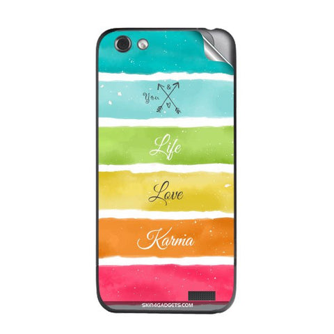 Lets Love Life For HTC ONE V Skin