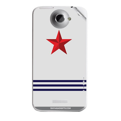 Star Strips For HTC ONE X Skin