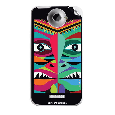 Tribal Face For HTC ONE X Skin