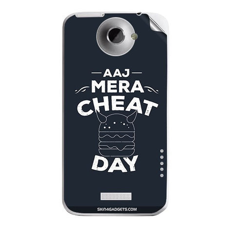 Aaj Mera Cheat Day For HTC ONE X Skin