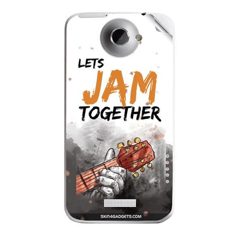 Lets Jam Together For HTC ONE X Skin