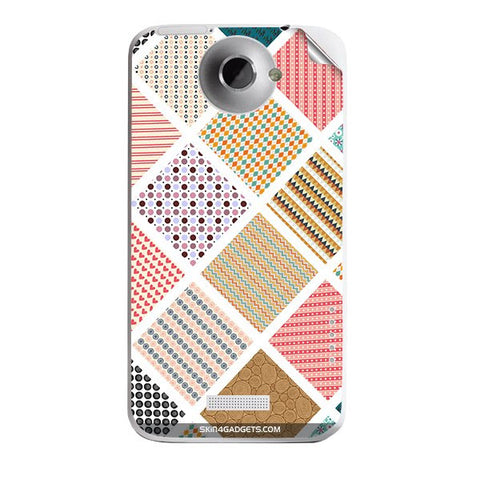 Varied Pattern For HTC ONE X Skin