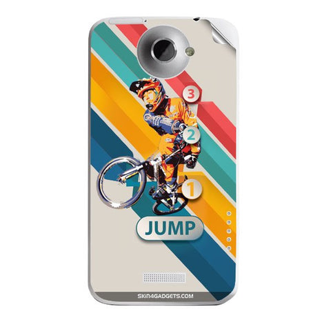 1 2 3 Jump For HTC ONE X Skin