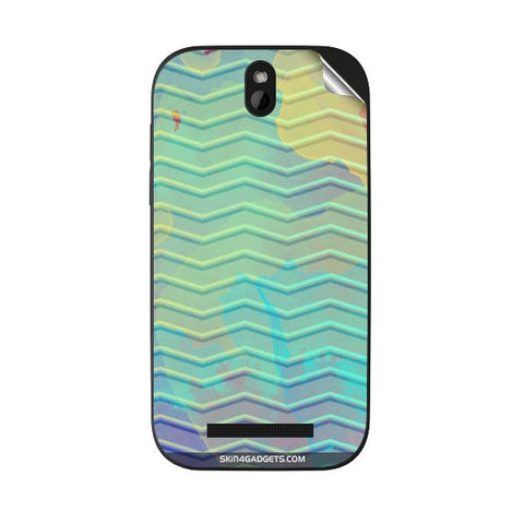 Colourful Waves For HTC DESIRE SV Skin