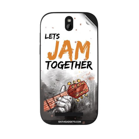 Lets Jam Together For HTC DESIRE SV Skin