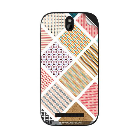 Varied Pattern For HTC DESIRE SV Skin