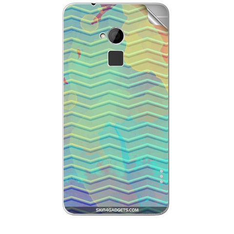 Colourful Waves For HTC T6 Skin
