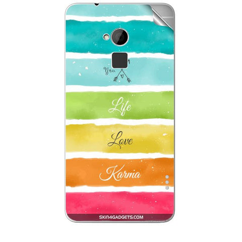 Lets Love Life For HTC T6 Skin